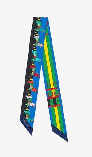 Hermès Bufanda multicolor