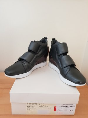 Letzter Preis Högl Sneaker Butterfly mit Keilabsatz Dunkelgrau Gr 38,5 Neu