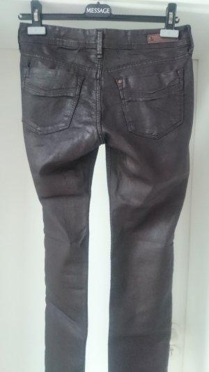LETZTER PREIS!! Hosen-Sale!!! Wenn weg, dann weg!!!! Super-Jeans in Leder-Optik!