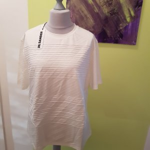 Letzter Preis Jil Sander Designer Shirt Neu Ecru Gr.XL = 44