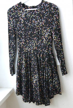 H&M Mini-jurk veelkleurig Viscose