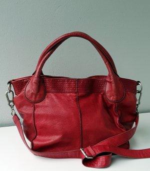 Letzter Preis !!! Liebeskind Tasche Shopper rot Leder