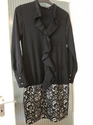 Liu jo Falda estilo lápiz negro-blanco Algodón