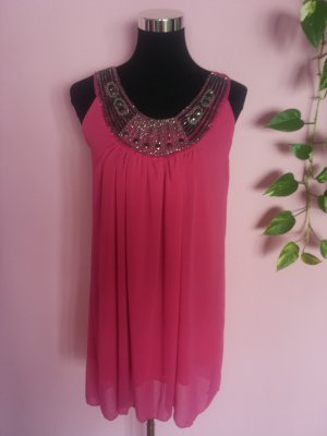 *Letzter Preis* Luftiges Sommerkleid in pink/magenta (Box 4)