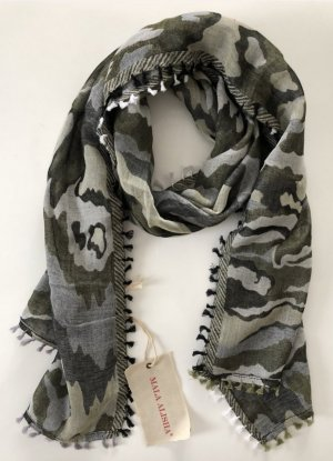 Letzter Preis Mala Alisha Schal Olive Camouflage Neu mit Etikett