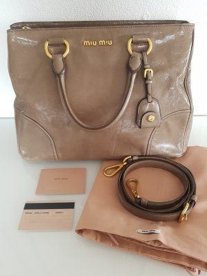 bc8edc1db9c50 MIU MIU by Prada Tasche Vitello Shine