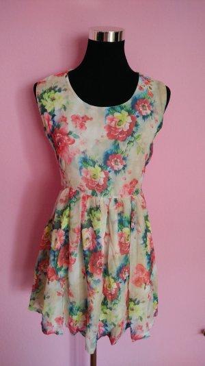 *Letzter Preis* NEU, Leichtes Sommerkleid mit Blumen (Box 7)