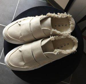 LETZTER PREIS: Neu & ungetragen: Mules Pantoletten Sneaker aus Stoff