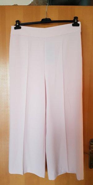Zara Pantalone culotte rosa pallido