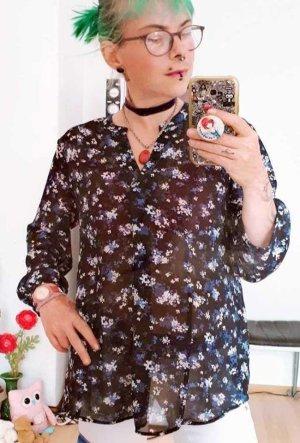 LETZTER PREIS NUR FÜR KURZE ZEIT !!!! H&M Flower Bluse gr. 40/42