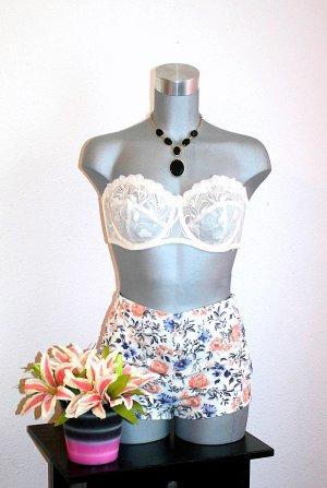 LETZTER PREIS; NUR FÜR KURZE ZEIT !!!! Hot Pant Gr. 36 Flower Short Nude