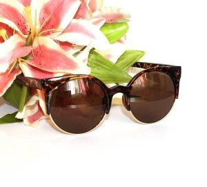 LETZTER PREIS, NUR NOCH HEUTE ... Blogger Sonnenbrille Butterfly Brille