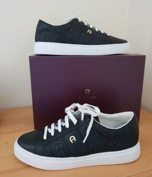 Letzter Preis Original Aigner Sneaker schwarz Gr. 39/ 39,5 Neu
