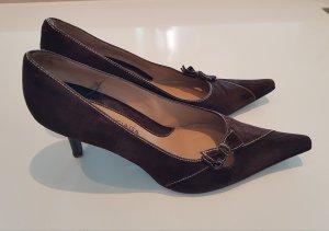 Balenciaga Shoes dark brown leather