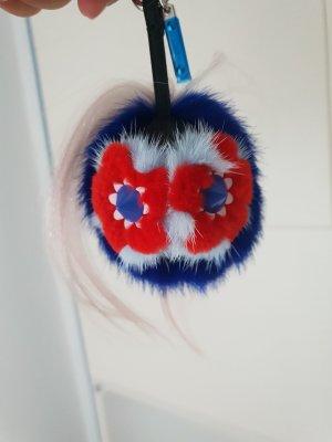 Fendi Porte-clés multicolore
