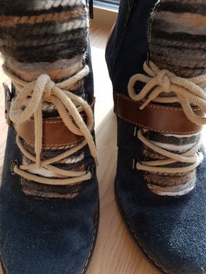 *letzter Preis * Original Rieker Stiefletten aus Leder und Schurwolle Grösse 37