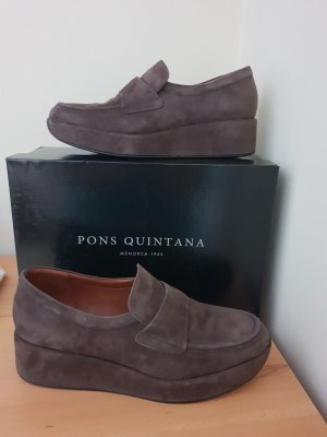 Pons Quintana Mocassino marrone-grigio