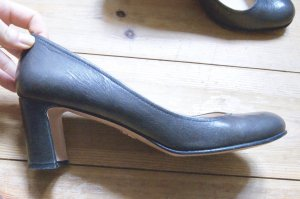 LETZTER PREIS PRADA Pumps Schuhe Business 38 Grau