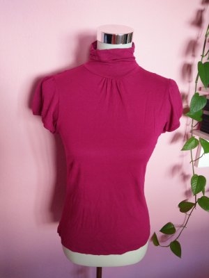 *Letzter Preis* Rollkragenshirt in purpur/magenta (K3)