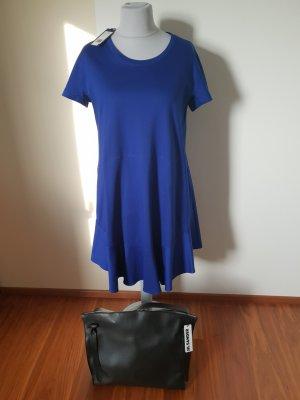 Letzter Preis Sander Navy Baumwollkleid Farbe Royal Gr. 44 Neu mit Etikett