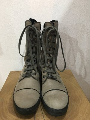 Tod's Lace-up Boots grey-black