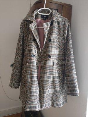 H&M Trench Coat multicolored cotton