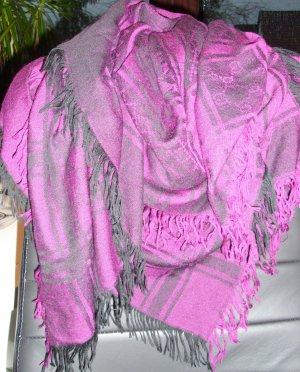 Gucci Halsdoek zwart-paars Modal