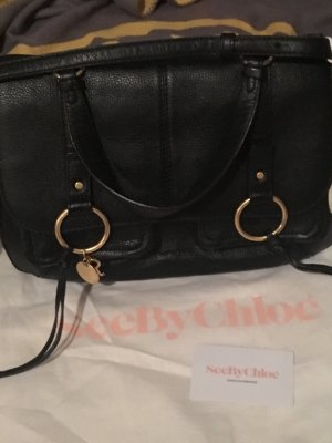 See by Chloé Satchel black
