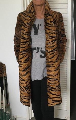 LETZTER PREIS !!! Vintage - Leo-Print Mantel. Folgen und stylish aussehen