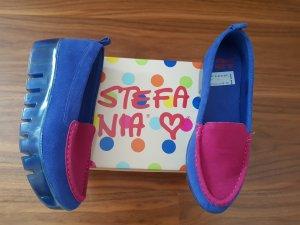 Zapatos formales sin cordones rosa-azul