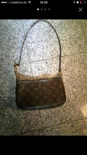 LETZTER SALE:Louis Vuitton Pochette Monogramm Vintage mit Verlängerung