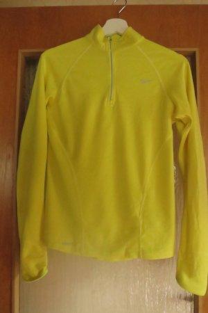 leuchtend gelbes Sport-Shirt Nike FITDRY