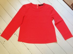 Leuchtend rote Bluse von Hallhuber
