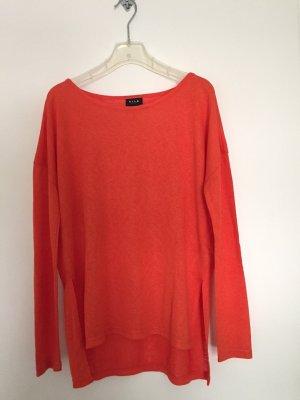 Vila Pull oversize orange polyester