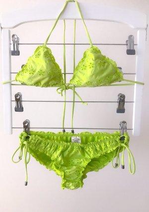 Abercrombie & Fitch Bikini amarillo limón