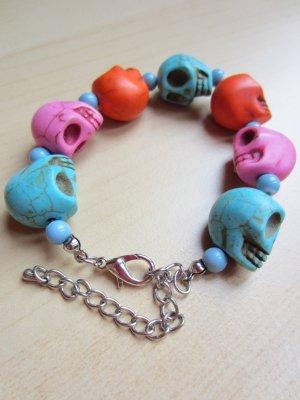 """Leuchtendes """"Día de los Muertos""""-Armband"""
