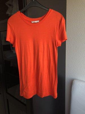 Leuchtendes Shirt, orange, Zara