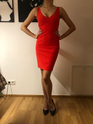 Robe stretch rouge-rouge clair