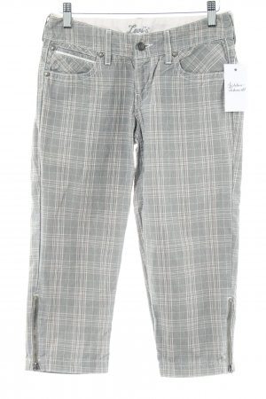 Levi's 3/4 Length Trousers glen check pattern casual look