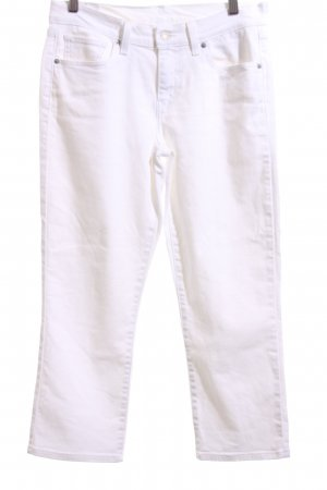 Levi's 3/4 Length Jeans white casual look