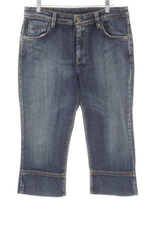 Levi's 3/4 Jeans dunkelblau Bleached-Optik
