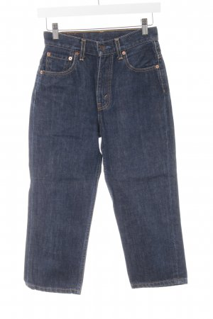 Levi's 3/4-jeans donkerblauw casual uitstraling