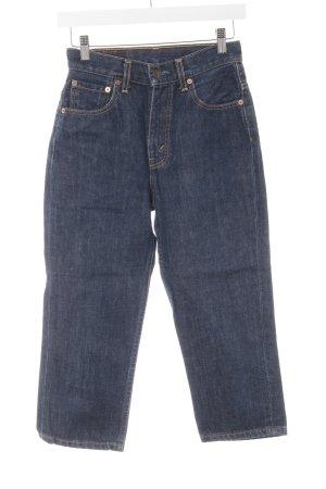 Levi's 3/4 Jeans dunkelblau Casual-Look