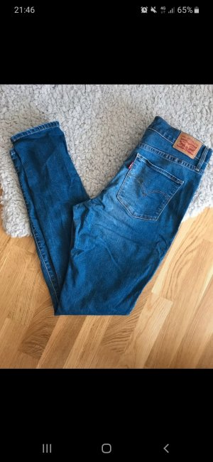 Levi's High Waist Jeans blue