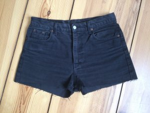 LEVI'S 501 cut-off Shorts in Schwarz