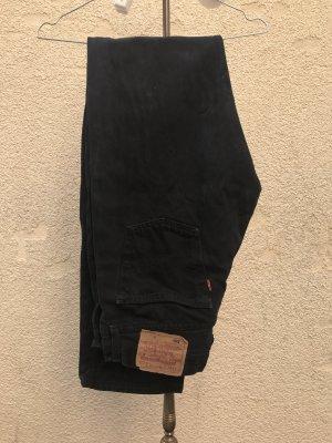 Levi's 501 Schwarz Mom Jeans Vintage Retro W30 L35