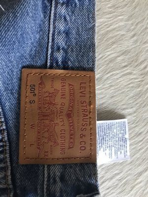 Levi's High Waist Jeans light blue