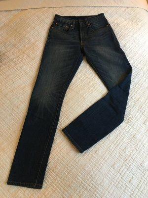 LEVI'S '501' Skinny Denim Größe: 26  Länge: 32 Farbe: Blue denim