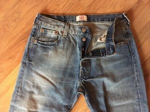Levi's Boyfriend jeans leigrijs