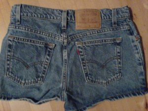 Levi's 511 High Waisted Shorts / Original Mid 80's / hoher Bund #rare